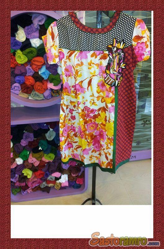 Dynamic printed stylish kurti and concept