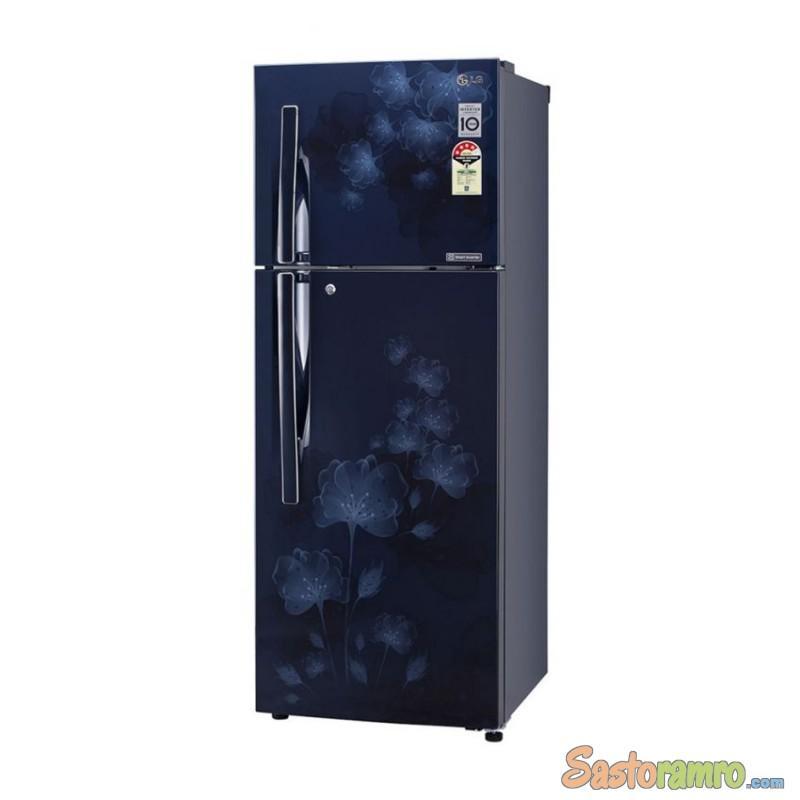 LG DOUBLE DOOR REFRIGERATOR MODEL:-GL-S292RPCL