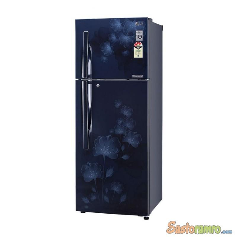 LG DOUBLE DOOR REFRIGERATOR MODEL:-GL-B292RPTL