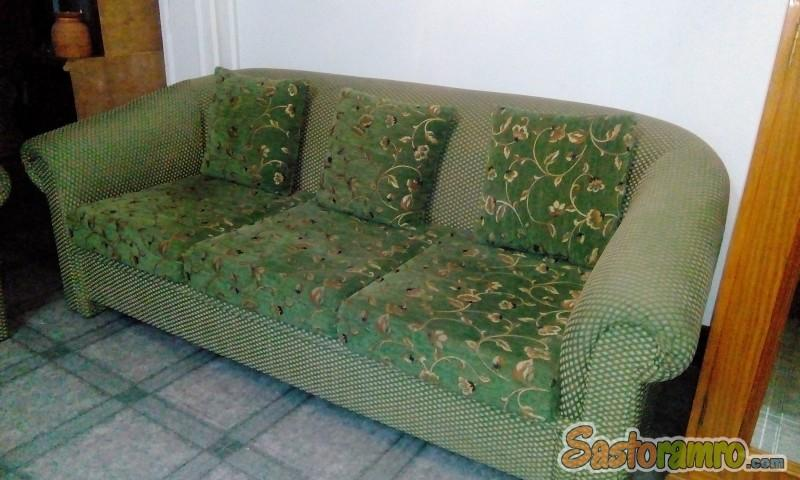 Five Seater Fabric Sofa On Sale(3+1+1)