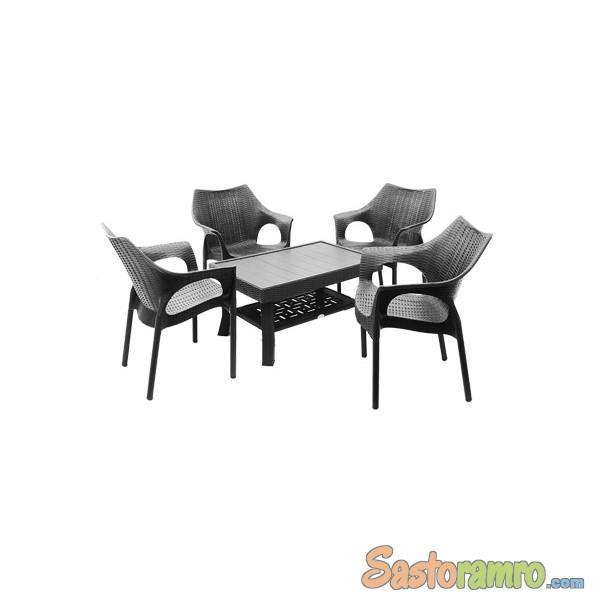 Supreme Furniture Cambridge With Vegas Dining Set