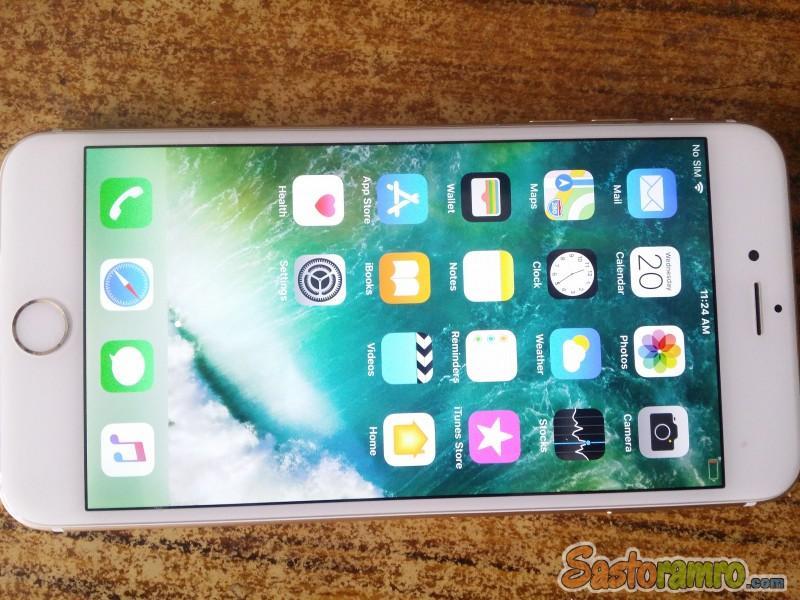 Iphone 6+ 128gb Gold