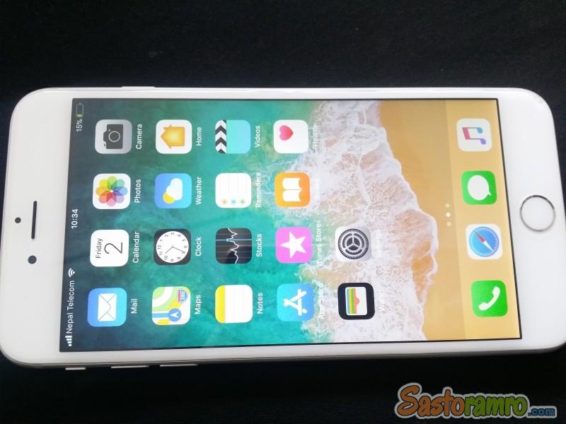 Looking for Apple Iphone 6+ 128gb Silver