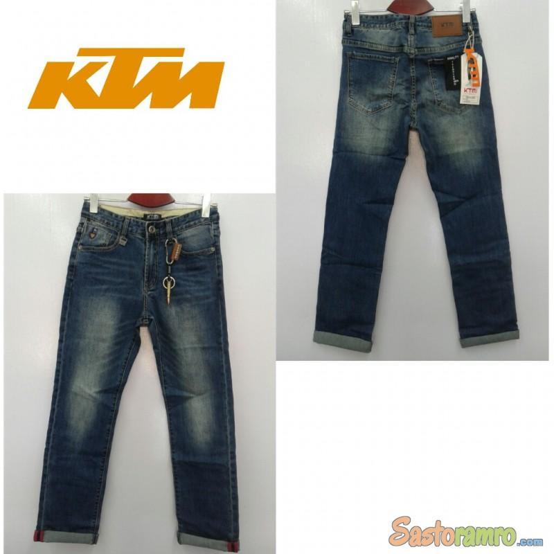 Men's Ktm Jeans (Denim)