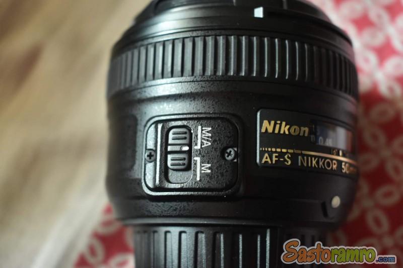 Nikon 50mm f/1.8