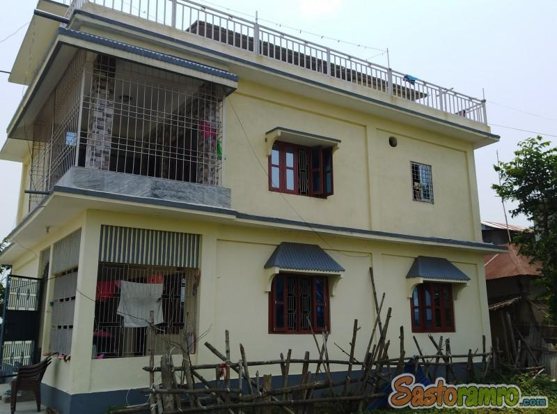 10 ropani house at Charpane Birtamode