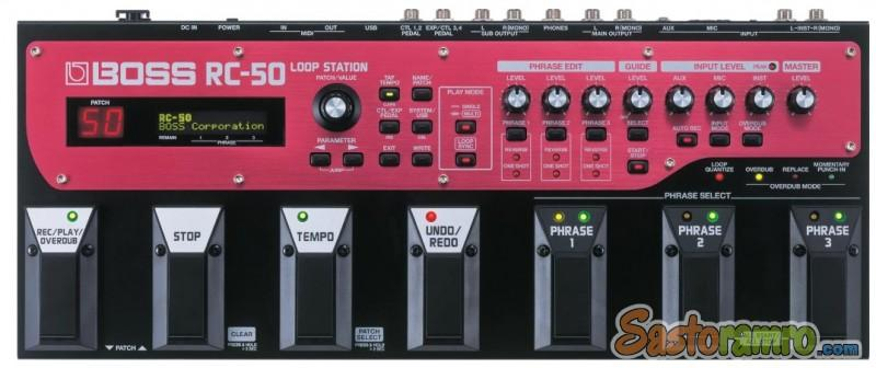 Boss RC-50 Loop Station