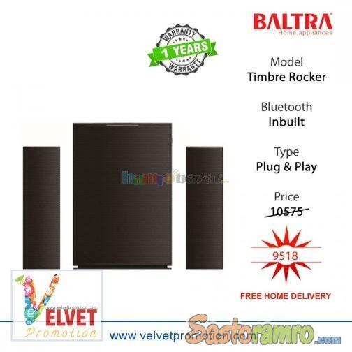 Baltra Music System Timbre Rocker (bl21sb201) Black