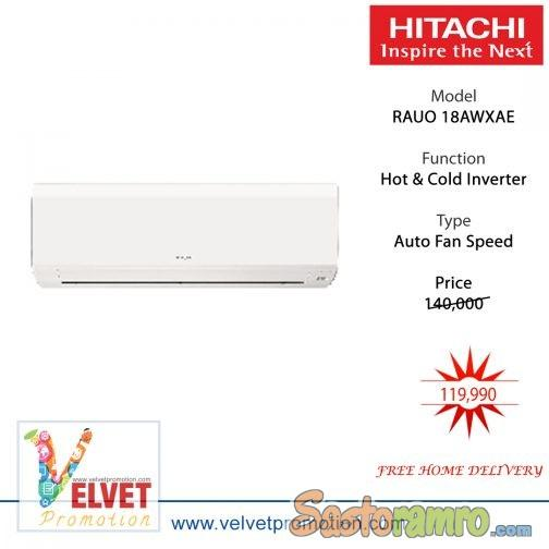 Hitachi RAUO 18AWXAE Air Conditioner