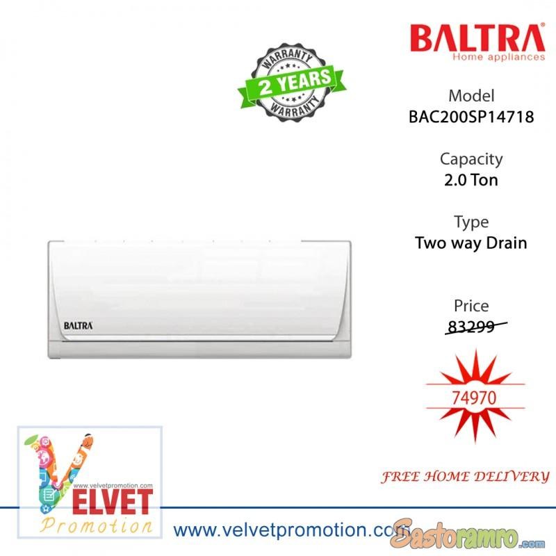 Baltra Air Conditioner 2.0 Ton BAC200SP14718 White
