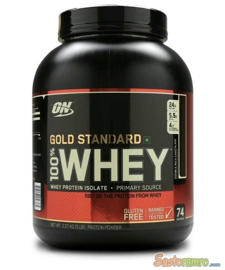 Optimum Nutrition ON Gold Standard Whey Protein 5 lbs