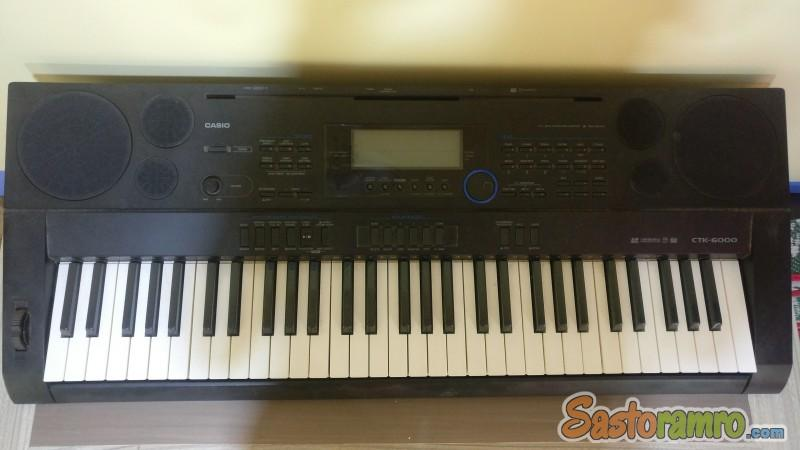 Casio ctk 6000 keyboard