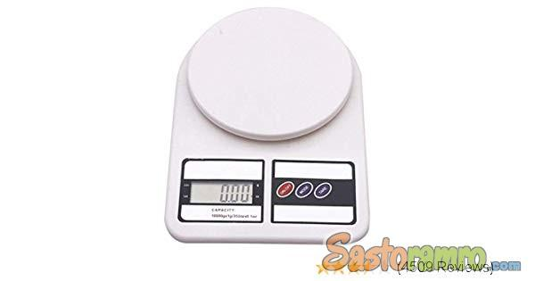 Electric Kitchen Weight Scale