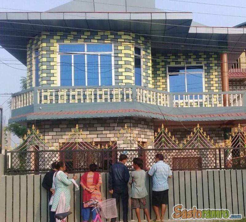 House at Bharatpur Narayani