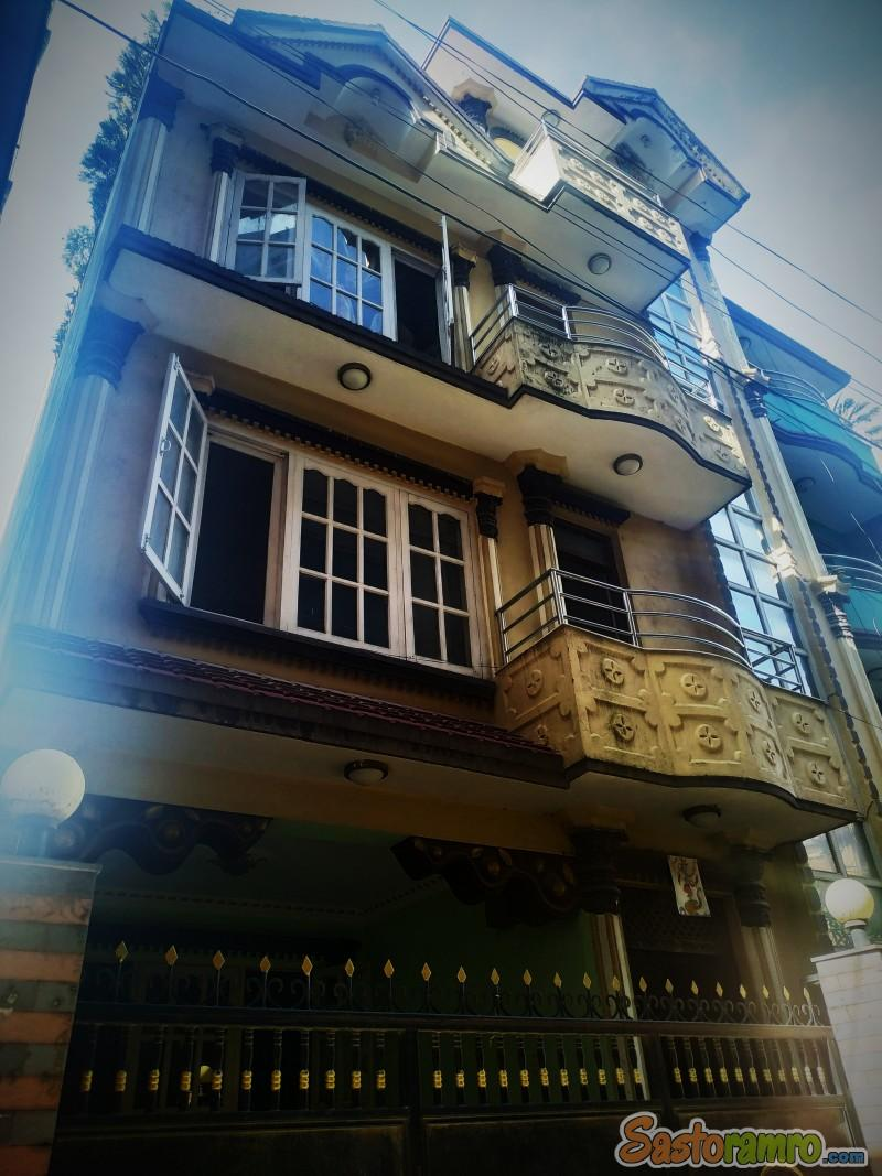 3.2 ana house at Sorhakhutte Nayabazar on sale