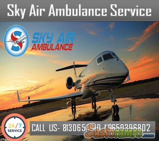 Book Air Ambulance from Patna with an Approved Medical Team