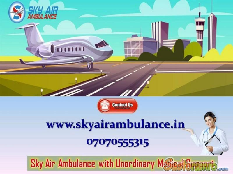 Book Air Ambulance in Ranchi with Sincere Medical Assistance