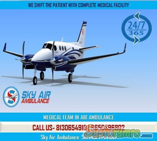 Select Air Ambulance from Kolkata at a Genuine Cost