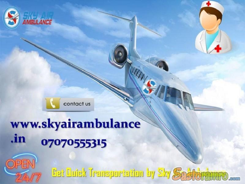 Avail Fast and Secure Charter Air Ambulance Service in Bhopal