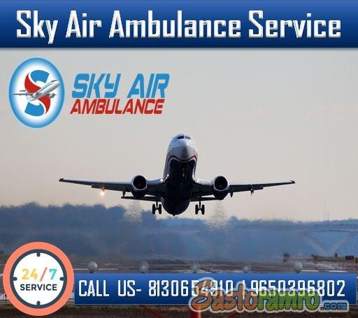 Use Air Ambulance in Guwahati with very Responsible Medical Staffs