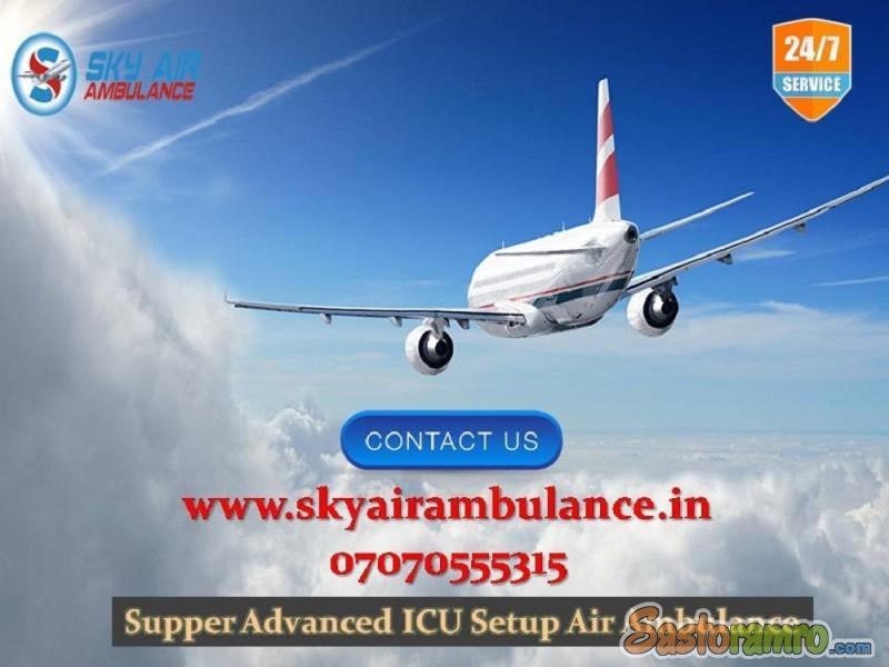 Utilize Uppermost Emergency Air Ambulance in Varanasi