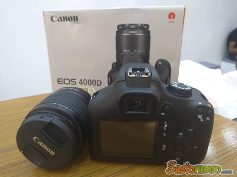 Canon EOS 4000D DSLR camera(New)