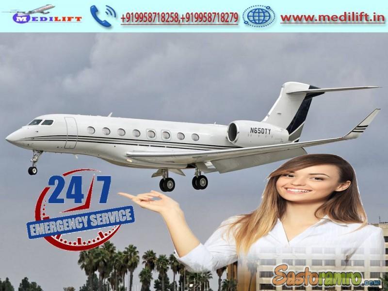 Utilize Medical Facility Air Ambulance Service in Siliguri by Medilift