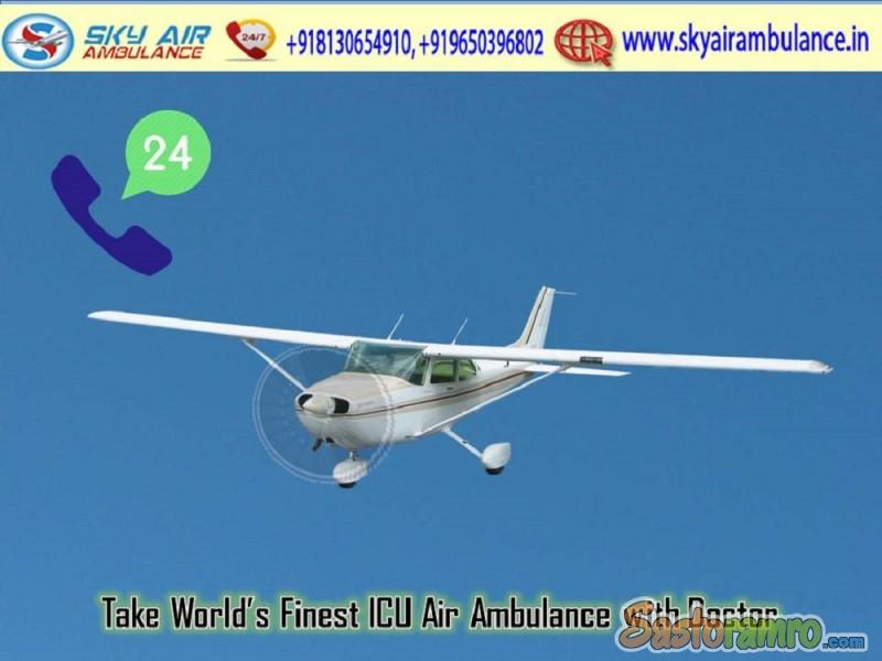 Choose Brand New Emergency Air Ambulance Service in Kozhikode