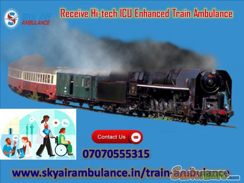 Get Cost-Effect ICU Facility in Train Ambulance from Kolkata