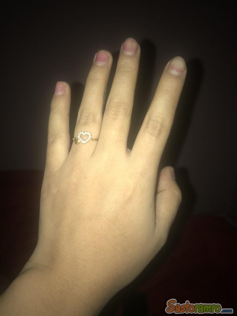 22carat gold ring