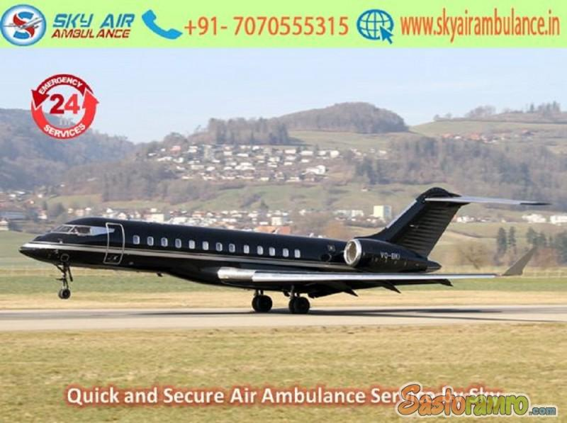 Take First-Class Emergency Air Ambulance Service in Allahabad