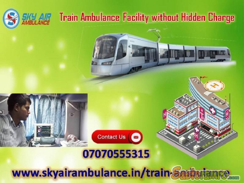 Utilize World-Class CCU Occupied Rail Ambulance Service in Mumbai