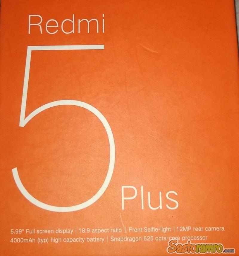 Redmi note 5 plus