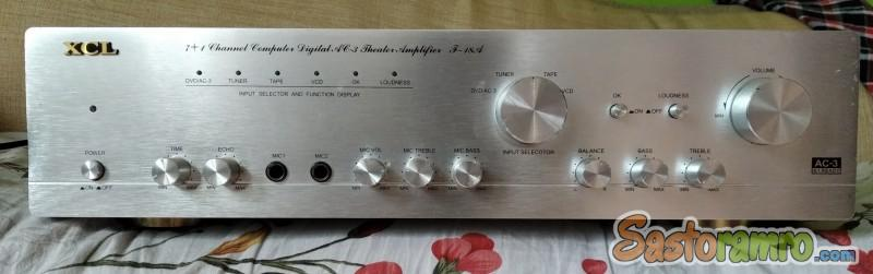XCL heavy amplifier