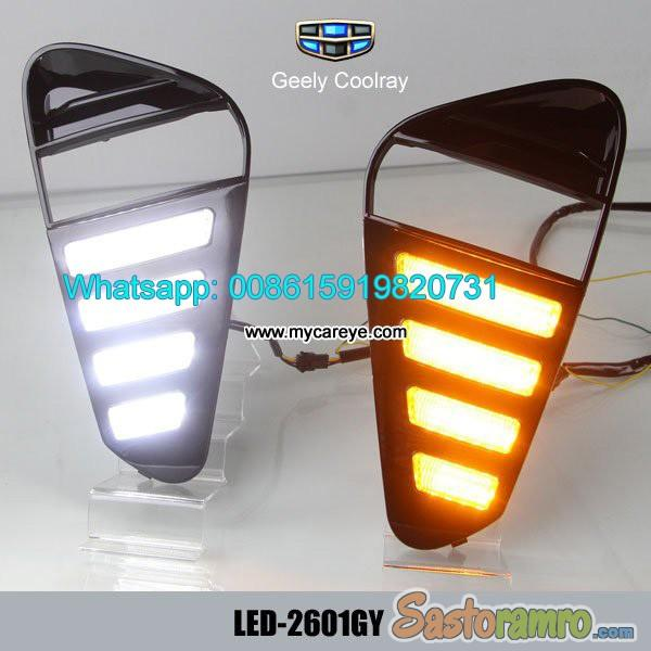 Geely Coolray DRL LED Daytime Running Lights autobody parts