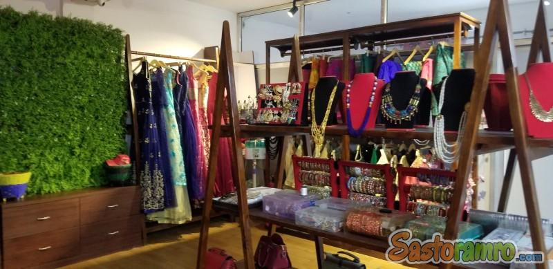 Boutique with space on sale