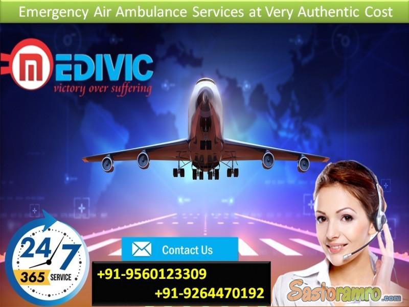 Hire Low-Package Emergency Air Ambulance in Delhi by Medivic