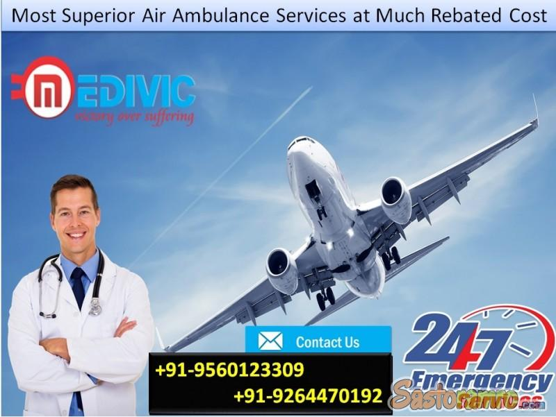 Now Get Most Valuable Emergency Air Ambulance in Kolkata by Medivic
