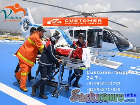 Use Tremendous Air Rescue by Vedanta Air Ambulance in Ranchi