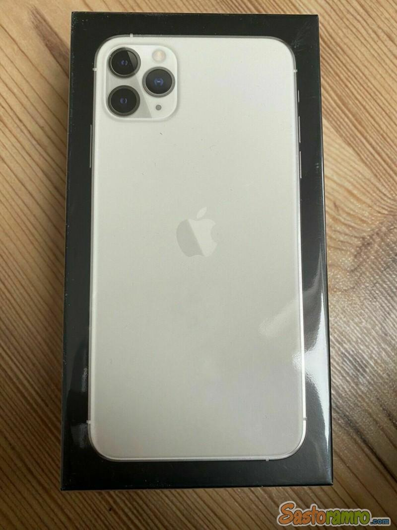 Apple iPhone 11 Pro Max - 256GB - Silver (Unlocked)