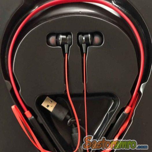 High Performance Super Bass Sound Sport in Ear Bluetooth Earphone