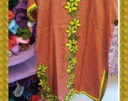 Silk kurti with floral superb petch,one of dynamic collection