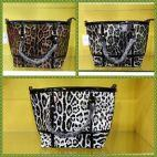 Ladies Animal print medium  bag For Sale