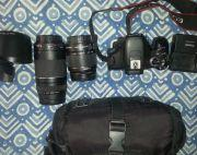 Canon Eos 600d With 18-55mm And 75-300mm Lens