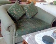 Two Seater Sofa 2 Pc With Cushions