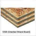 OSB (Oriented Strand Board) Boards 12 Mm Thick