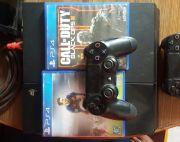 Ps4 with two controller and two games