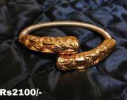 24 caret gold plated pancharatna balla for ladies