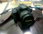 Canon 600D with 18-55 and 50mm prime in very good condition