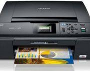 Brother: 3 in 1 inkjet jcp-j125 colour printer on sale